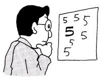 数字パターン